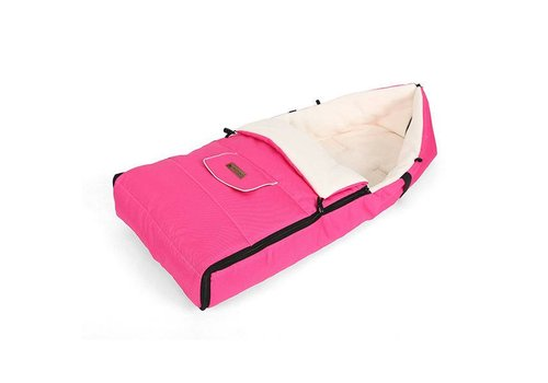 Universele fleece voetenzak - roze