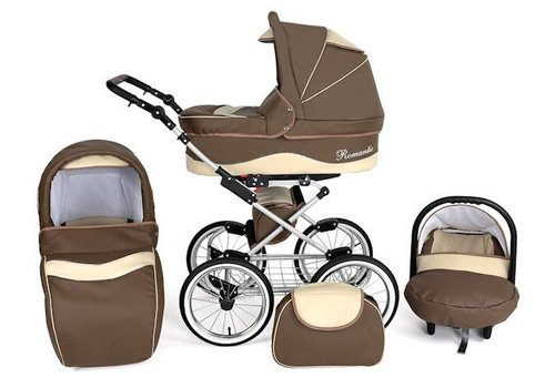 3 In 1 Retro kinderwagen combi Romantic -  eco 2
