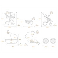 thumb-3 In 1 Retro kinderwagen combi Romantic 5-3