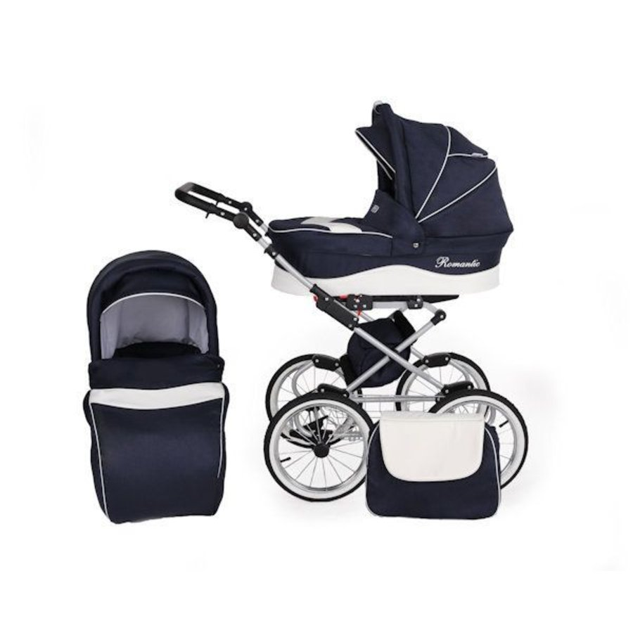 3 In 1 Retro kinderwagen combi Romantic 5-1