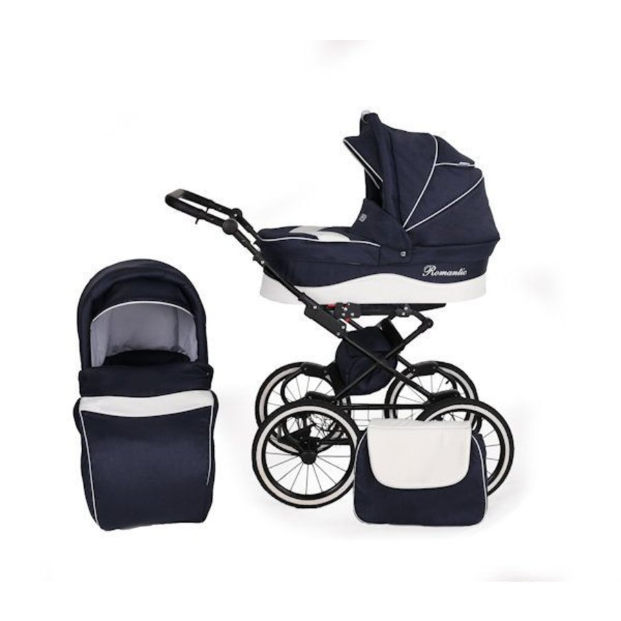 3 In 1 Retro kinderwagen combi Romantic 5-2