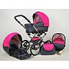 3 In 1 Retro kinderwagen combi Margaret - 63