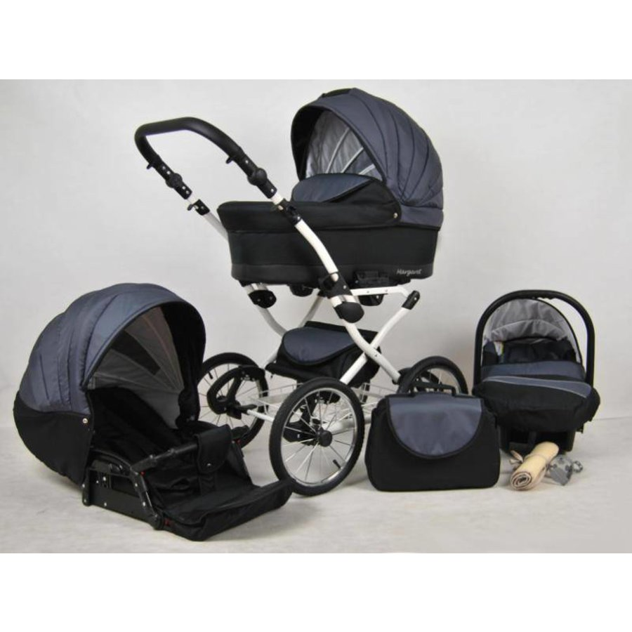 3 In 1 Retro kinderwagen combi Margaret - 94-2