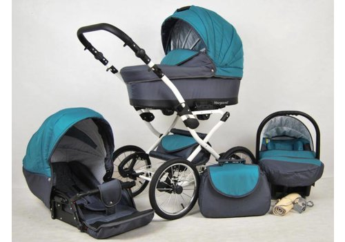 3 In 1 Retro kinderwagen combi Margaret - 98