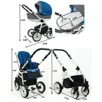 thumb-3 in 1 Combi kinderwagen Alu Way 3-8