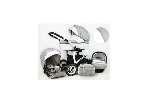 Combi kinderwagen 3 in 1 - White Lux - 5