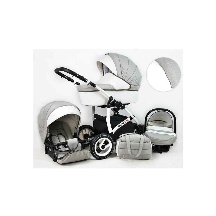 3 in 1 Combi kinderwagen White Lux - 5-1