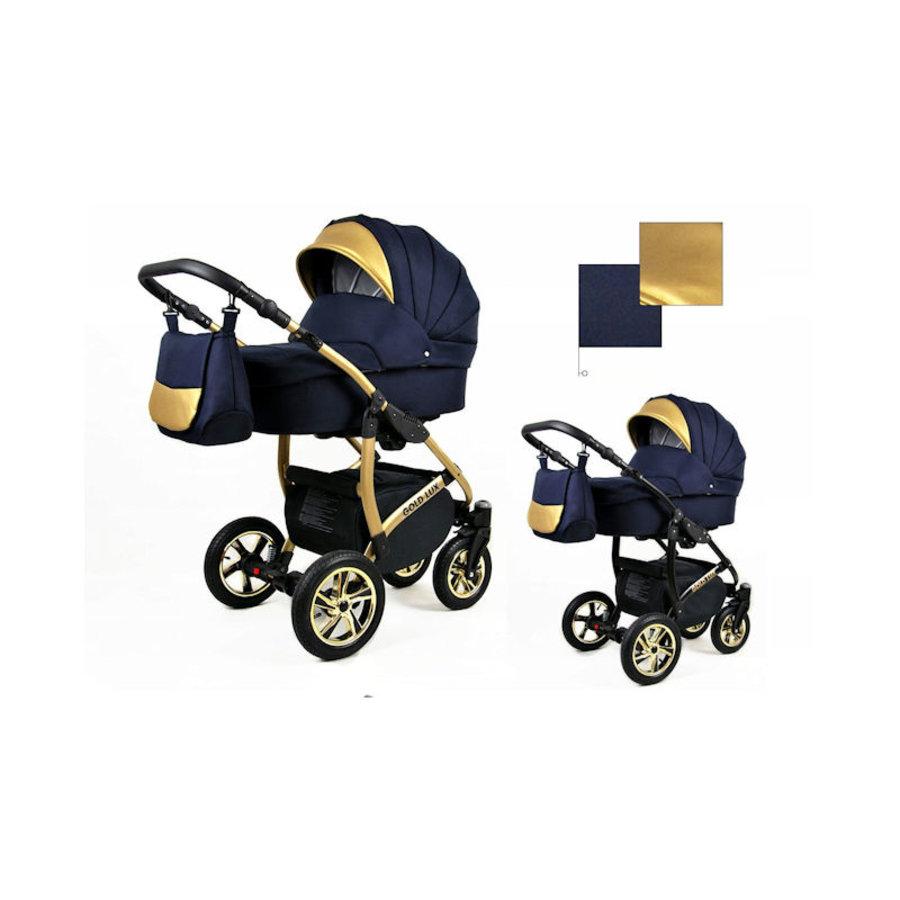 3 in 1 Combi kinderwagen Gold Lux 1-3