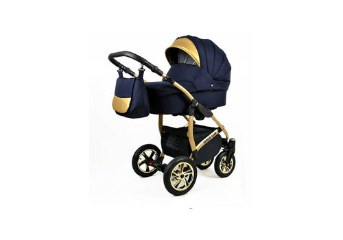 3 in 1 Combi kinderwagen Gold Lux 1