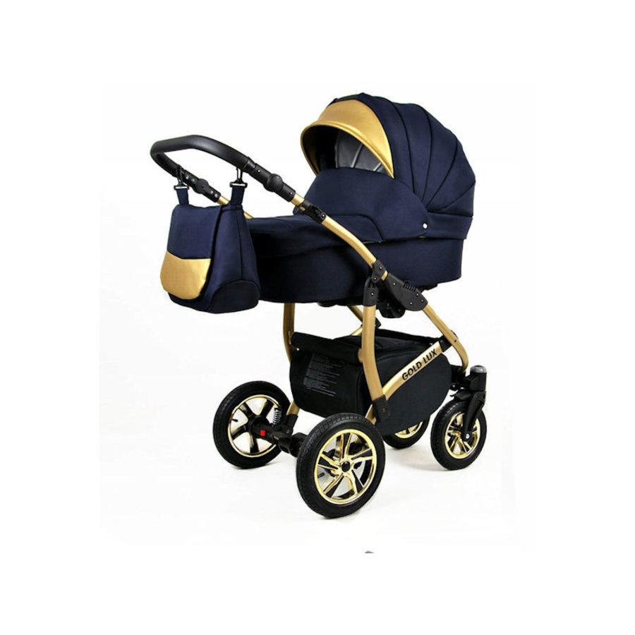 3 in 1 Combi kinderwagen Gold Lux 1-1