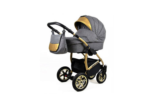 3 in 1 Combi kinderwagen Gold Lux 2