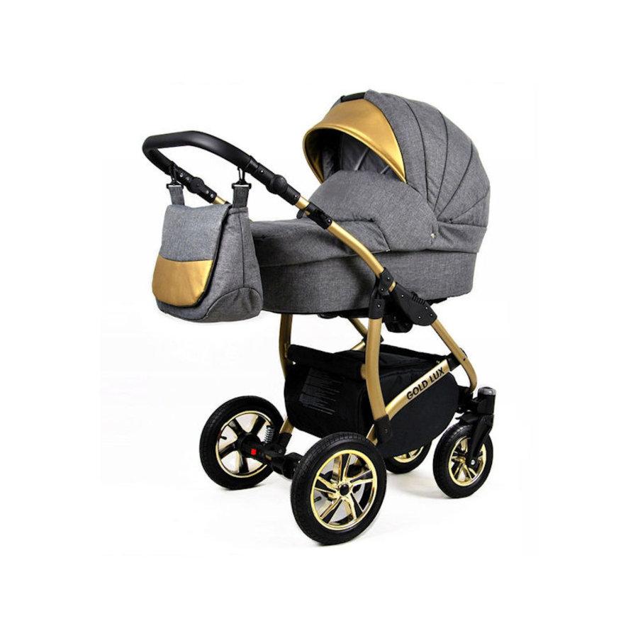 3 in 1 Combi kinderwagen Gold Lux 2-1