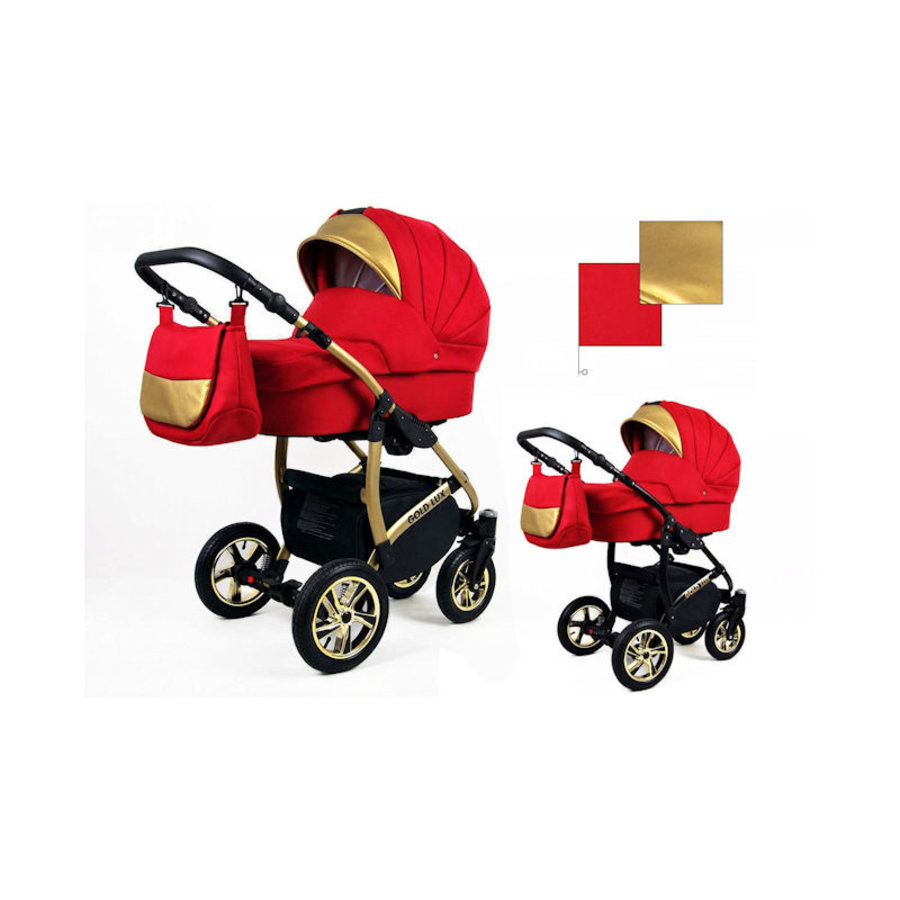 3 in 1 Combi kinderwagen Gold Lux 3-3
