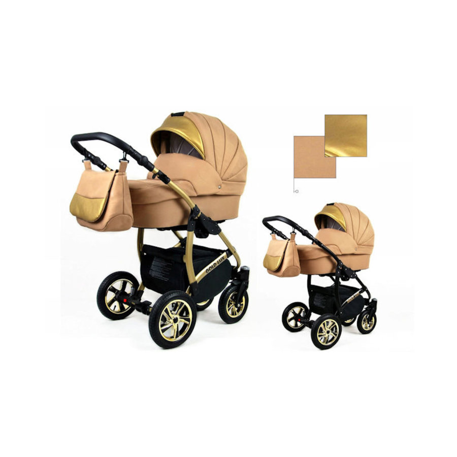 3 in 1 Combi kinderwagen Gold Lux 4-3