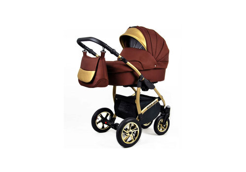 3 in 1 Combi kinderwagen Gold Lux 6