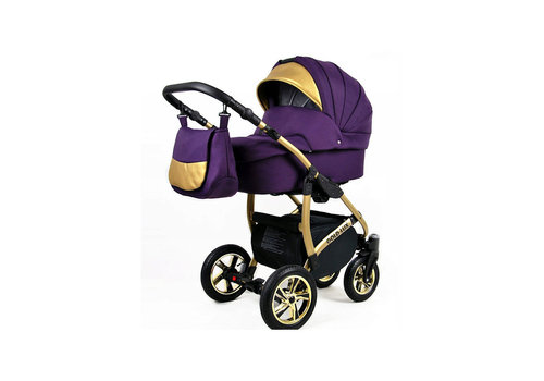 3 in 1 Combi kinderwagen Gold Lux 8