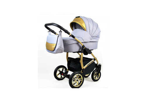 3 in 1 Combi kinderwagen Gold Lux 9
