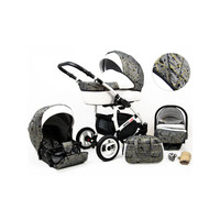thumb-3 in 1 Combi kinderwagen White Lux - 12-1