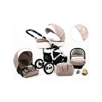 thumb-3 in 1 Combi kinderwagen White Lux - 14-1