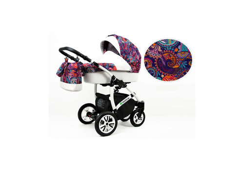 3 In 1 kinderwagen combi Tropical 5