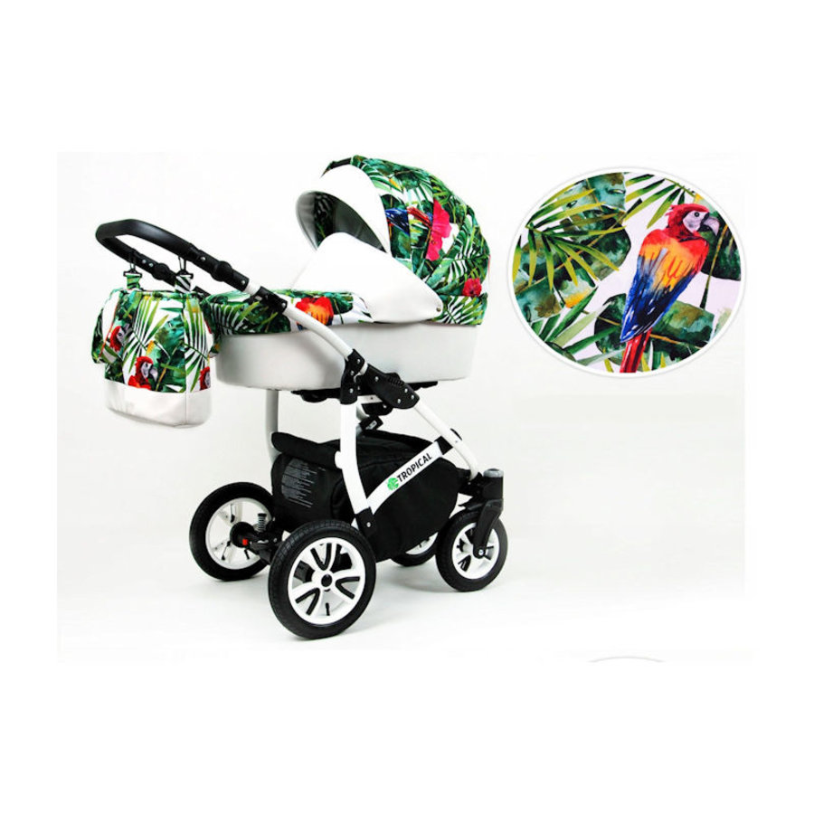 3 In 1 kinderwagen combi Tropical 9-2