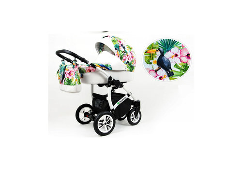 3 In 1 kinderwagen combi Tropical 10