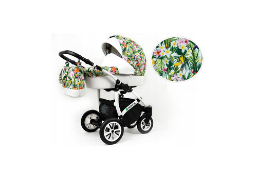 3 In 1 kinderwagen combi Tropical 8