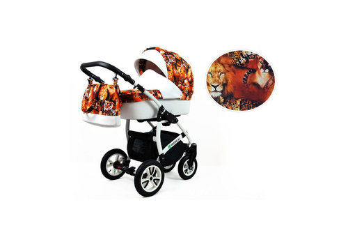 3 In 1 kinderwagen combi Tropical 11