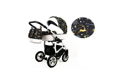 3 In 1 kinderwagen combi Tropical 12