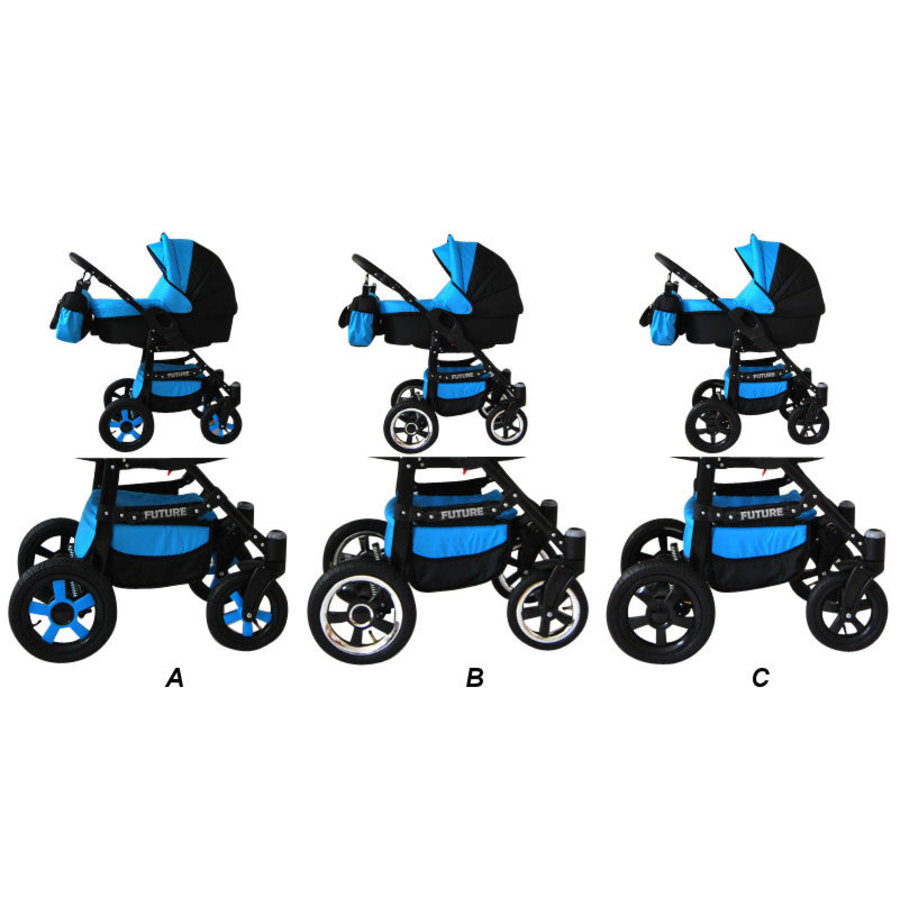 3in1 Combi kinderwagen Future 6-3
