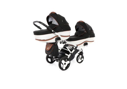 Tweeling kinderwagen Dalga Lift Duo Slim 04