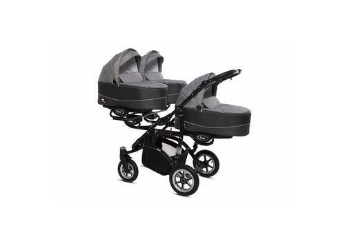 Drieling kinderwagen Trippy Premium 09 - zwart