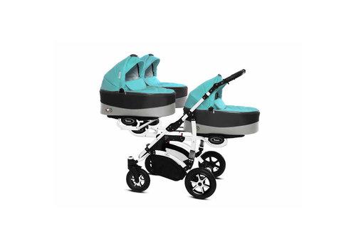 Drieling kinderwagen Trippy Premium 11 - wit