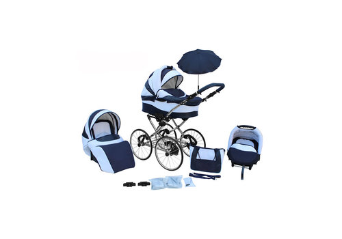 3 in 1 Retro kinderwagen Classic 1
