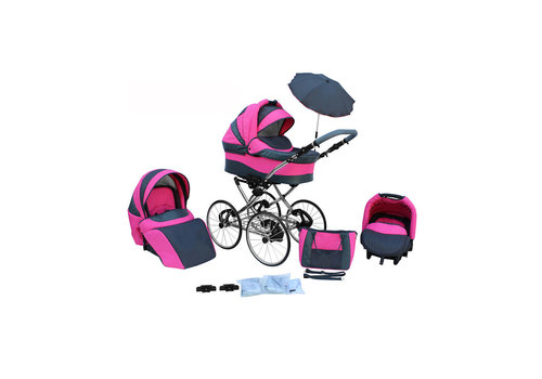 3 in 1 Retro kinderwagen Classic 2