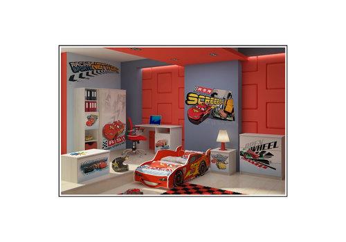 Complete Disney kinderkamer Cars - Lightning McQueen