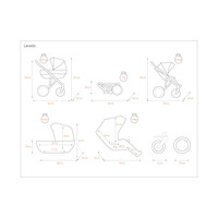 thumb-3 In 1 combi kinderwagen Lavado 9-3