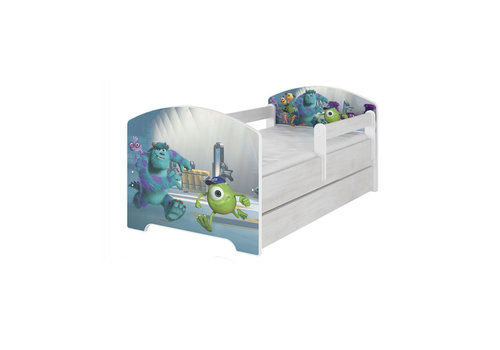 Disney kinderbed - Monster & Co