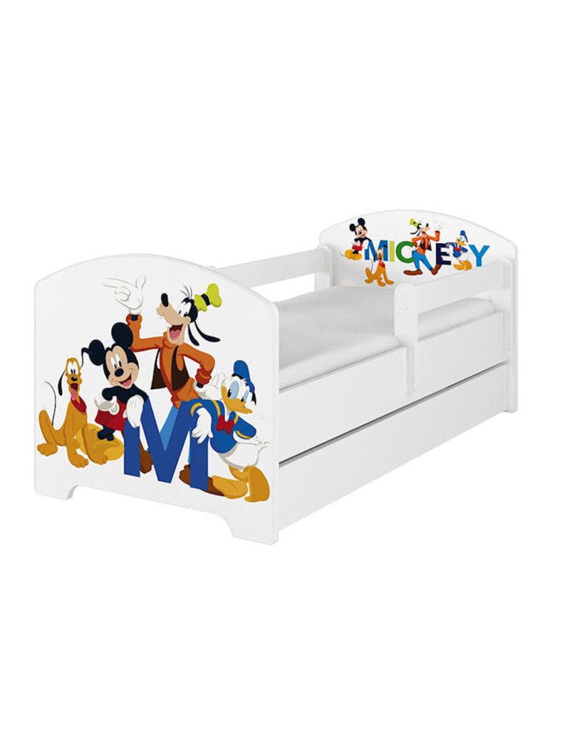 Mickey Mouse Nachtkastje.Disney Kinderbed Mickey En Vriendjes Kiddoez