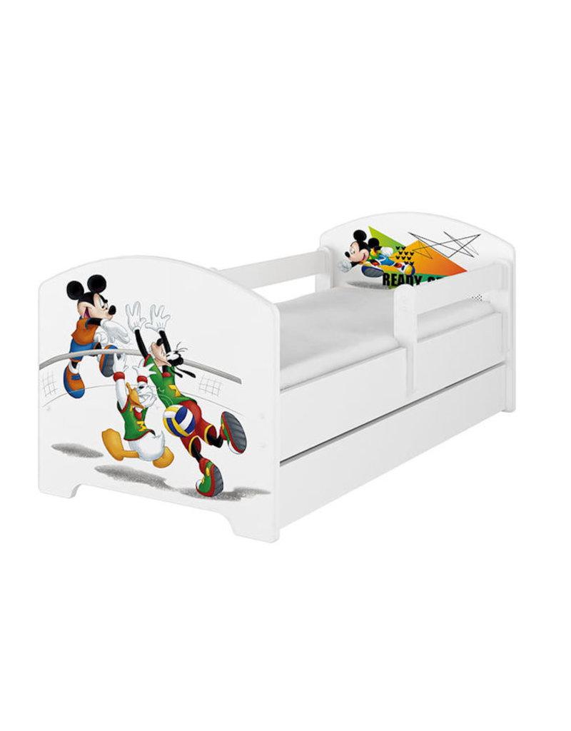 Mickey Mouse Nachtkastje.Disney Kinderbed Mickey Volleybal Kiddoez