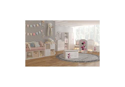 Disney Babykamer Minnie in Parijs 1