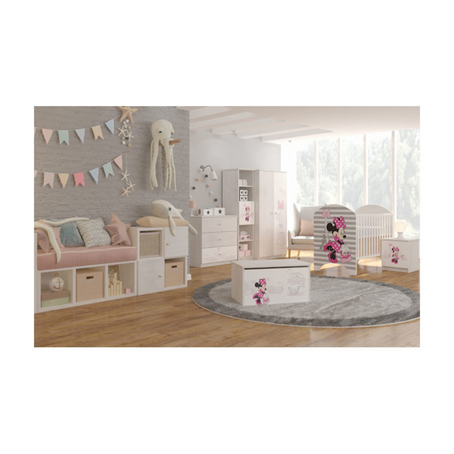 Disney Babykamer Minnie in Parijs 1-2
