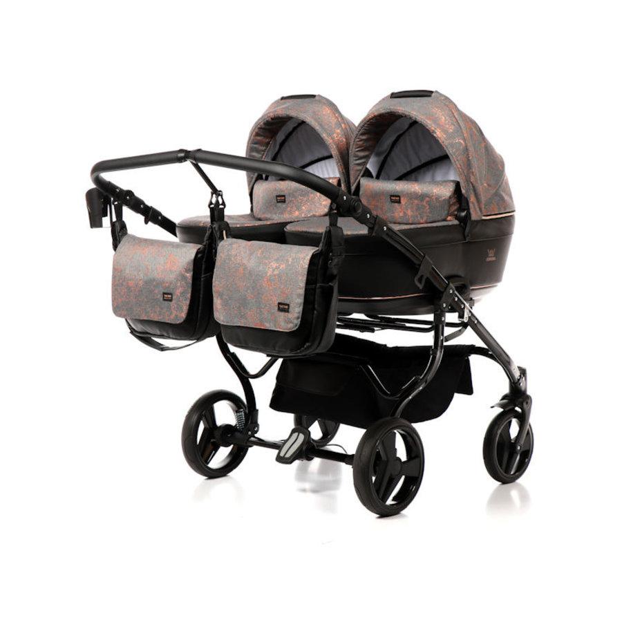 Tweeling kinderwagen Corona Duo 1-3
