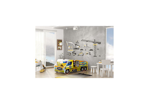 Autobed - Beton vrachtwagen