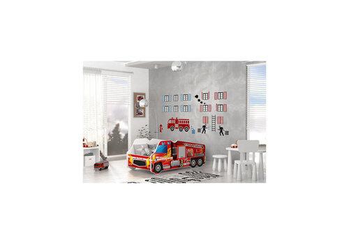 Autobed - Brandweer vrachtwagen