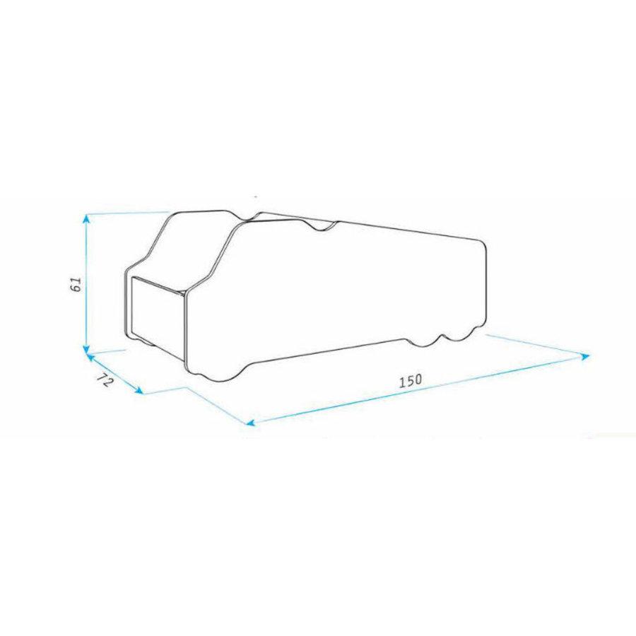 Autobed - Paarden vrachtwagen-4