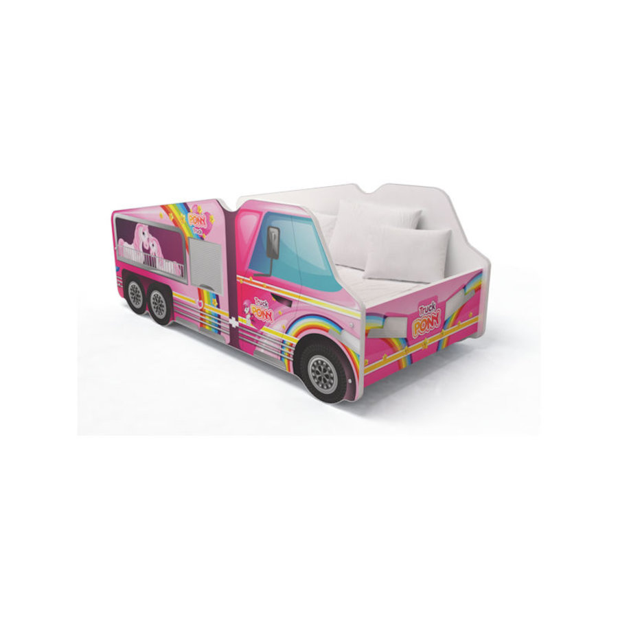 Autobed - Paarden vrachtwagen-1