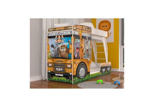 Stapelbed Mega Truck - Safari