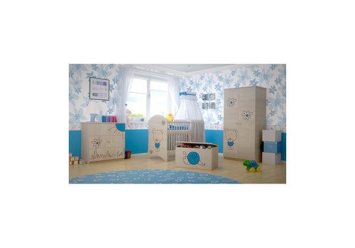 Babykamer Beertje Blauw