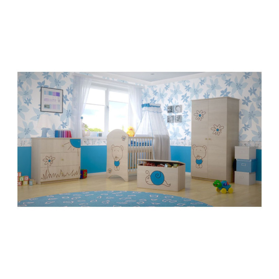 Babykamer Beertje Blauw-2